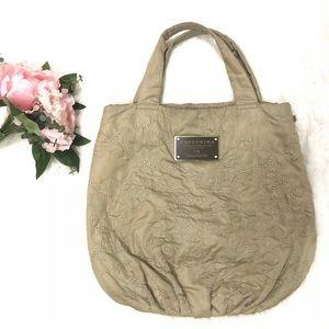 ANTEPRIMA Contrast Reversible Tote Purse Light Bag